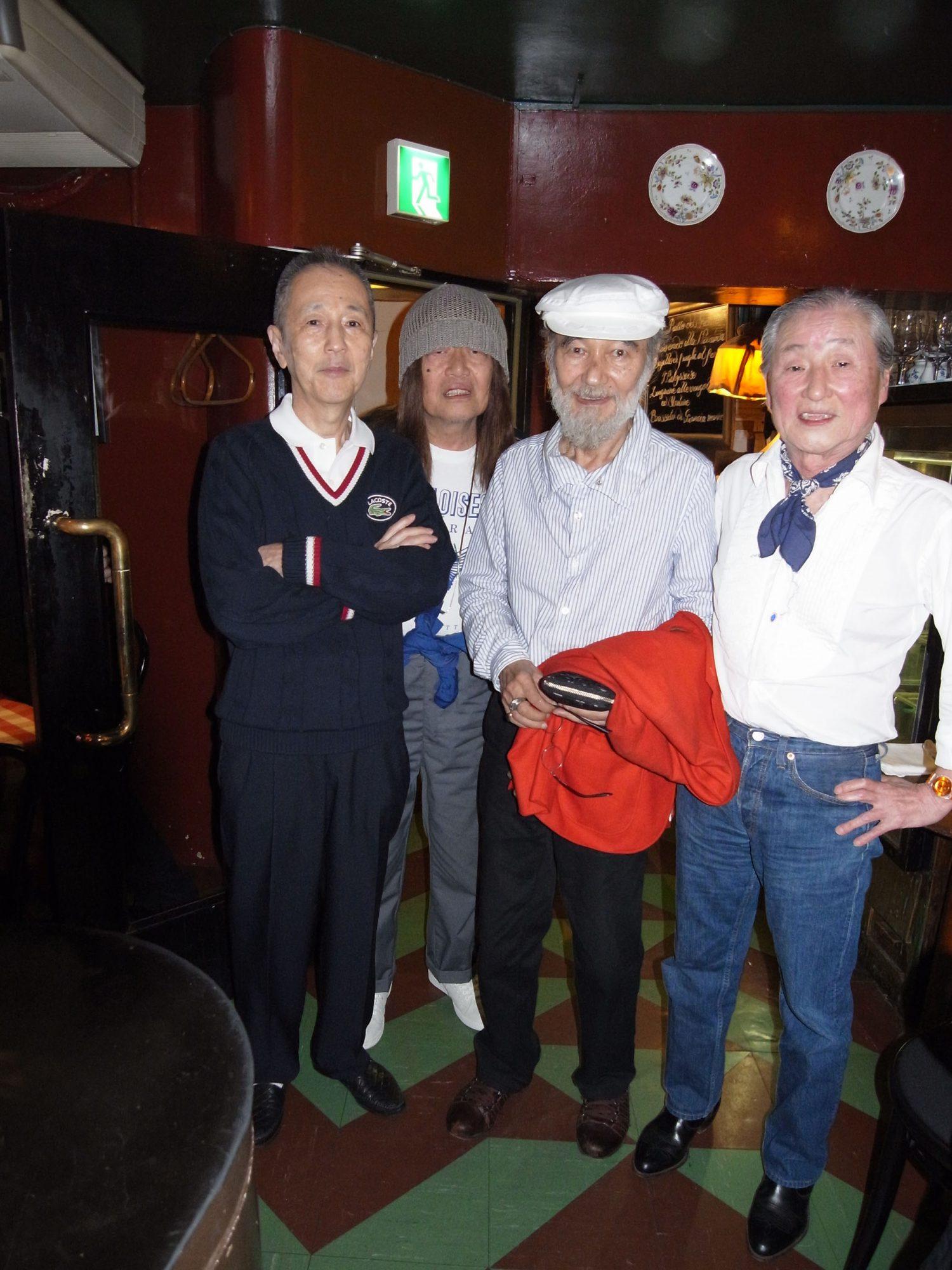 Tetsu Ikuzawa's Party Style 2. | | Tetsu Ikuzawa's Life Style